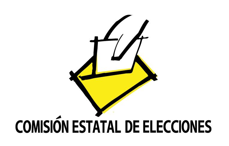 Logo DE LA COMISIÓN ESTATAL DE ELECCIONES
